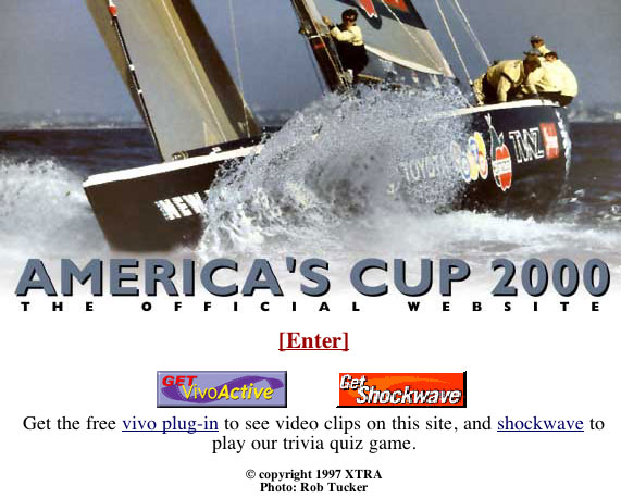 Official website of the America's Cup 2000